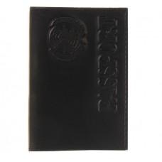 """Обложка для паспорта """"Passport"""" черная"""