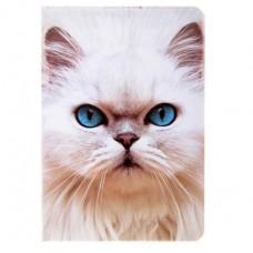 """Обложка для паспорта """"Белая кошка"""""""